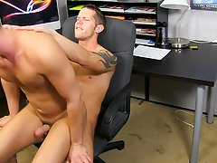Hot gay teacher muscular sex...