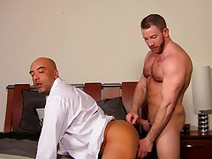 Straight man masturbating pictures and gay anal gangbang seeding free porn at My Gay Boss