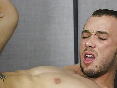 Hot gay anal sex and gay male anal lick at My Gay Boss