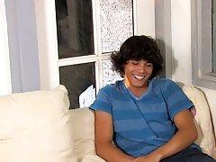 Long hair free video gay and...