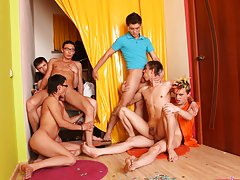 Gay series pictures love group porno and gay group sex partys at Crazy Party Boys