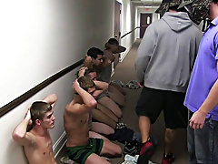 These pledges had no idea what was cumming to them gay jocks videos big coc