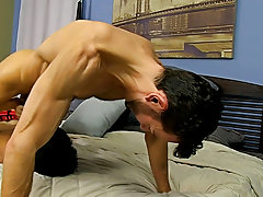 Boy gets fucked by stud married man raw gay porn and male takes anal licking at Bang Me Sugar Daddy