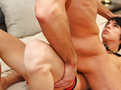 Jock strap spanking enema and...