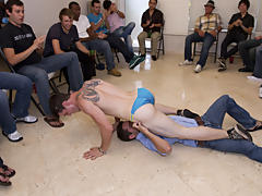Gay oral group sex and gay...