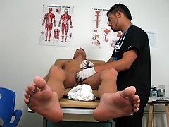 I came right on the exam table and Ajay squeezed my cock with every pump to get all the cum out gay cum in condom