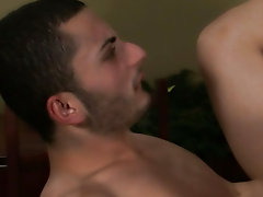 Johnny gives til it hurts, stuffing this transportation dude's ass-stocking until his anus runneth outstanding gay porn hunks