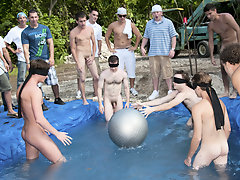 The winners of course were excempt from Pandemonium week but the losers had to yield a return the fundamental payment gay group sex photos free