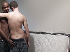 00 to get naked and touch Aitan's dick gays interracial at Broke College Boys!