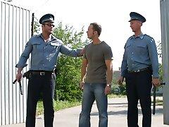 A cop, Sergio Soldi, comes and...