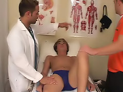 The doctor started to lick my...