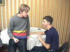 Leo was waiting in the interest his train who was helping him with Math tranny boy sex