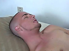 Tony gave me a warning that he was getting close to cumming and Justin stood back and watched him blow his load interracial gay masturbating