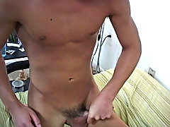 Then, Zakk pulled out to tug off to shoot his load msn group shirtless me