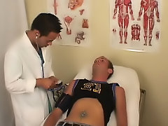 When I arrived at the medical clinic they took me back to a patient room, and doctor came in to take my information down free anal gay videoclip