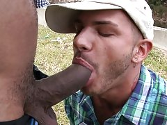 Tristan was a real go getter and I would say he gave it all he had but... big white gay cock
