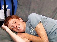 Cute Redhead Alan Parish lays...