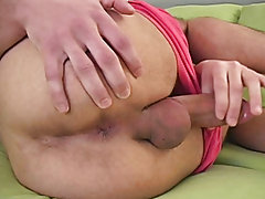 As he saw what the other guys looked like he started to get turned on so he pulled far-off his shirt and pants masturbation techniques wit
