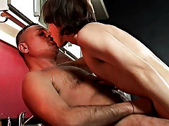Watch the horse hung boy rub his old lover's holes with his pulsing meat free extreme gay anal photos