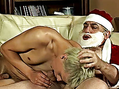 That was only a pretext exchange for Santa to put into his jeans mature young men sex