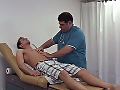 With a very light touch he slowly started to examine my dick and then my balls for anything abnormal gay twinks cum