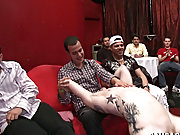 Gay bear doctor finger fucks college student and blowjob videos young boys at Sausage Party