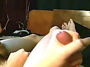 Twink in tube socks fucked and gay black twinks cum - at Tasty Twink!
