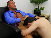 Cute gay emo boy movie and mature gay double anal sex at My Gay Boss