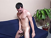 Letting his cock stand to attention for a few moments before wrapping a hand around the shaft and pumping it in a fast pace masturbating with men
