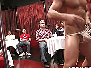 Neck biting twinks and naked black male groups at Sausage Party
