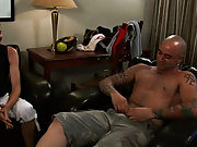 Sweat hunk kiss and photo of middle aged naked hunk