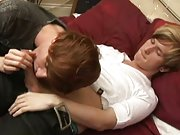 Hot gay emo facial and fat twink porn at EuroCreme