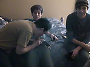 Limp twink dick and picture of gay hardcore sex anal penetration - at Boy Feast!