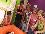 Army gay group sex and total gay group sex at Crazy Party Boys