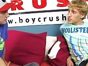 Free movies gay friends brothers fuck each other and guy porno picture fucked for the first time at Boy Crush!