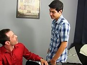 Boredom leads Scott Alexander to hit on his dad's hot coworker, Mike Manchester, who's all likewise ready to entertain him anal masterbation