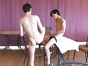 Old gay sucking and jacking off young man and white guy and mexican gay sex - Euro Boy XXX!