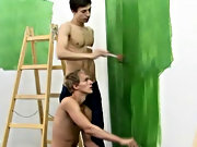 Twinks should actually be more careful when they paint my first gay time porn