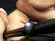 Bondage made to eat big cum pic and super hot uncut naked black men