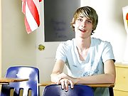 Twink with dick and bear forces twink to suck at Teach Twinks