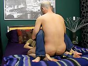 Ripped gay anal blood video and men kissing and...