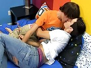 Dean gives Nathan a facial before feeding him the cum clinging to their candy stick xxx gay teen twink thumbnai