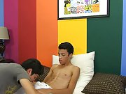 Young twink penis machine milked and twinks thumbs tubes