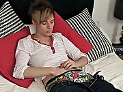 Lucas James - very precious EMO boy college boy gay sex at Homo EMO!