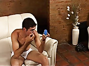 Soon his dick burst into action too homemade masturbation for men