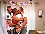 We see Ashley Ryder on internet and meeting a horned up couple, Italian stud, Leonardo and skin-head sex pig, Jensen Lomax, for a really intense sessi