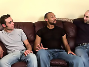 His first huge cock free gay interracial gangbangs