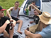 Quickly each one of them grabbed a beer out of the cooler, and Michael let out that he had to pee free gay twink pics