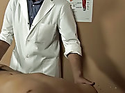 The doctor had real irritation controlling himself as he was examining this ultra thrilling Latino twink nude gay mature japanese me