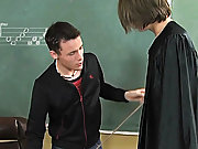 Spencer goes to his teacher's class after school to get his measurements taken gay twink picpost at Teach Twinks